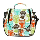 Baby Bottle Tote Bags Fresh Bag Cooling Lunch Bag - Twinkle Owl