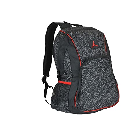 42baf8584f72 Nike Air Jordan Jumpman 23 Black red graphite School Bookbag Laptop Bag  Backpack  Amazon.ca  Tools   Home Improvement