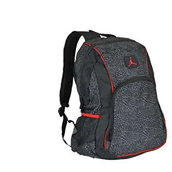 83b878f0683a Jordan  quot Elephant 2-Strap Backpack - black red
