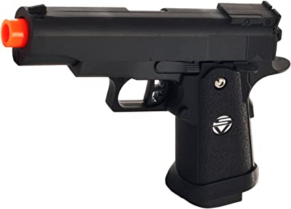 Best Heavy duty Full Metal Spring Airsoft Gun Pistol With FREE 3000 BB/'S BULLETS