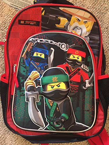 Lego Ninjago Movie 16 Backpack Book Bag