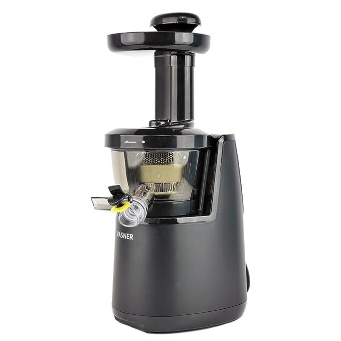vasner Slow Juicer exprimidor exprimidor eléctrico 60 U/min, 150 W ...