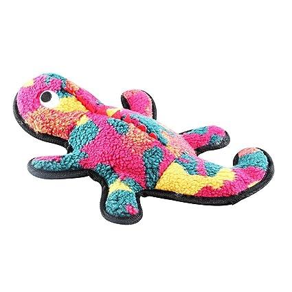 Puzzle Juguetes de Peluche Resistentes a la mordedura de Mascotas Gecko Resistente a la luz Durable