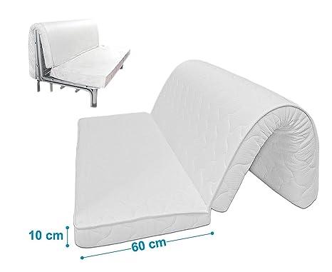 Baldiflex materasso per divano letto brio pronto letto con piega