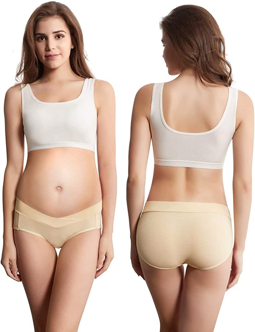 XXXL, MultiA Mama Cotton Under Bump Maternity Panties