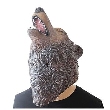 Máscara YN Lobo Aullando Lobo Accesorios de película Personalidad Muebles creativos Cocina Ventana Lobo: Amazon.es: Hogar