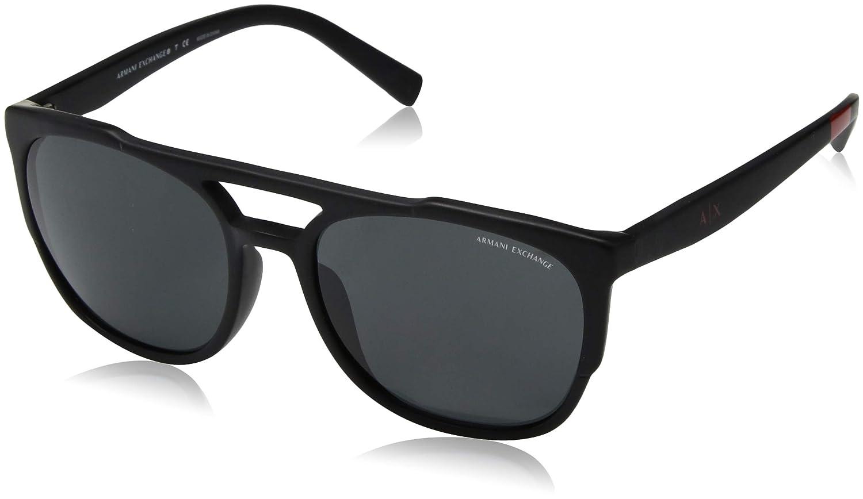 Amazon.com: Armani Exchange - Gafas de sol cuadradas para ...