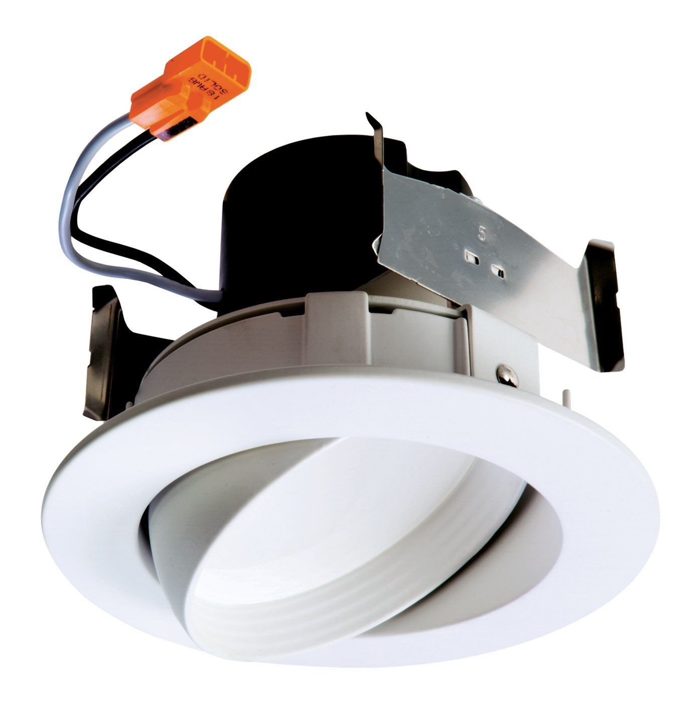 Halo RA406927WH 90CRI, 2700K, Very Wide Flood Integrated LED Recessed Trim, 4'', White