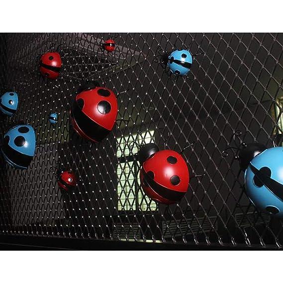 Amazon.es: B Blesiya 3 Unids Mini Metal Ladybug Valla Suministros ...