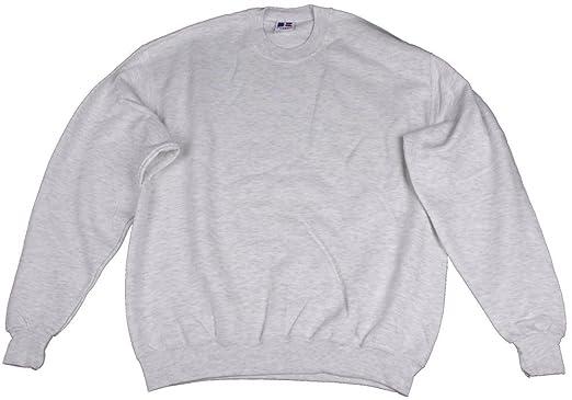 Russell Herren Sweatshirt, Model:, Farbe: weiss hellgrau