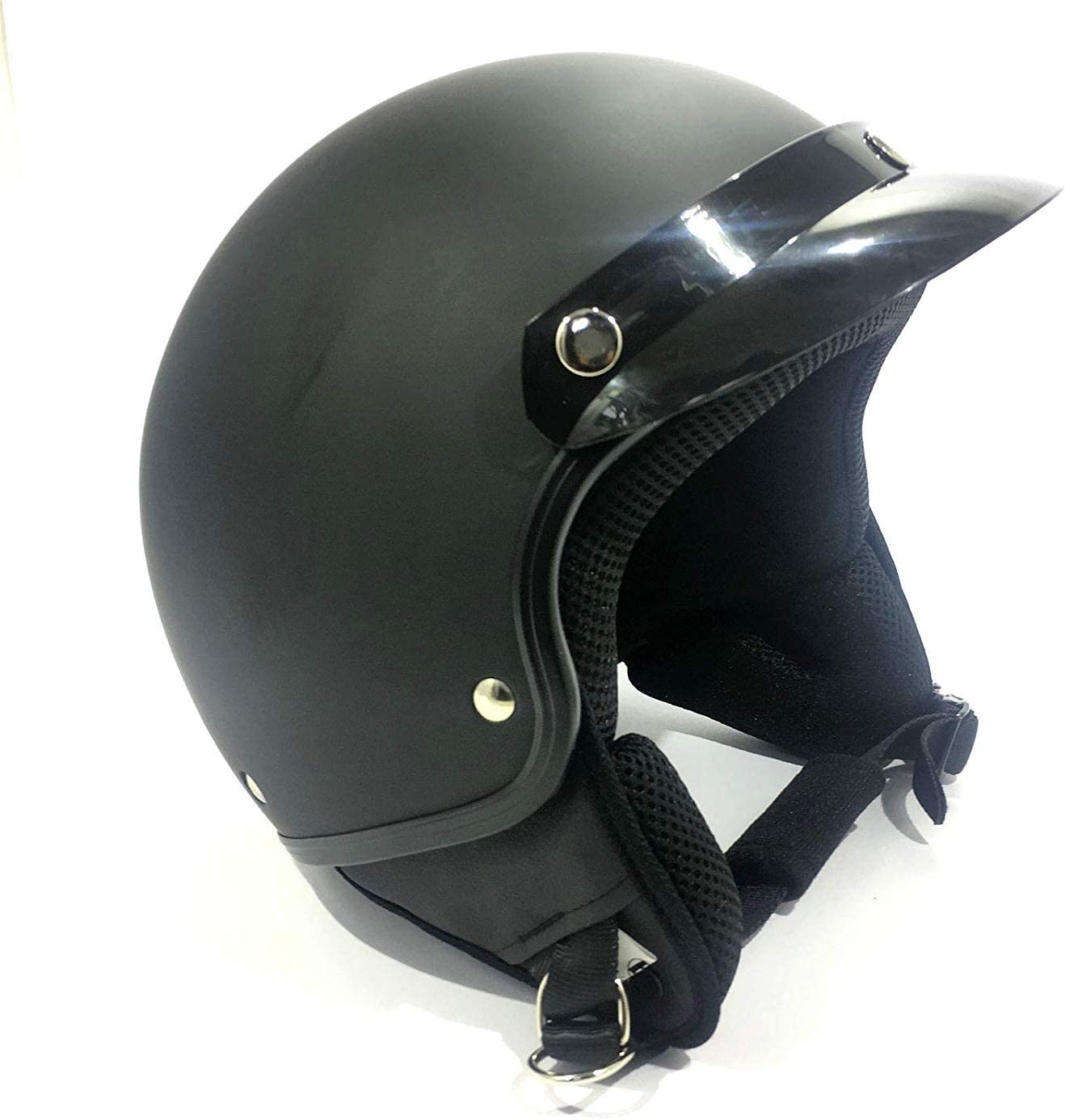 Open Face Jet Tourer Motorcycle Helmet