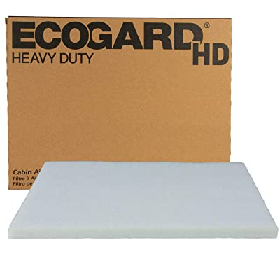 ECOGARD XC10656HD Premium Heavy Duty Truck Cabin Air Filter Fits Peterbilt 387 2000-2011, 587 2011-2020: Automotive