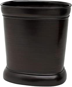 Zenna Home, India Ink Marion, Oil Rubbed Bronze Waste Basket