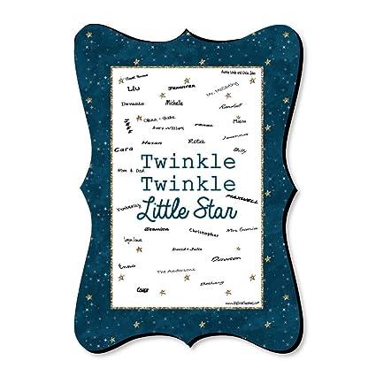 Amazoncom Twinkle Twinkle Little Star Unique Alternative Guest