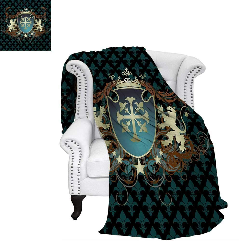 Amazon.com: warmfamily Medieval Digital Printing Blanket ...