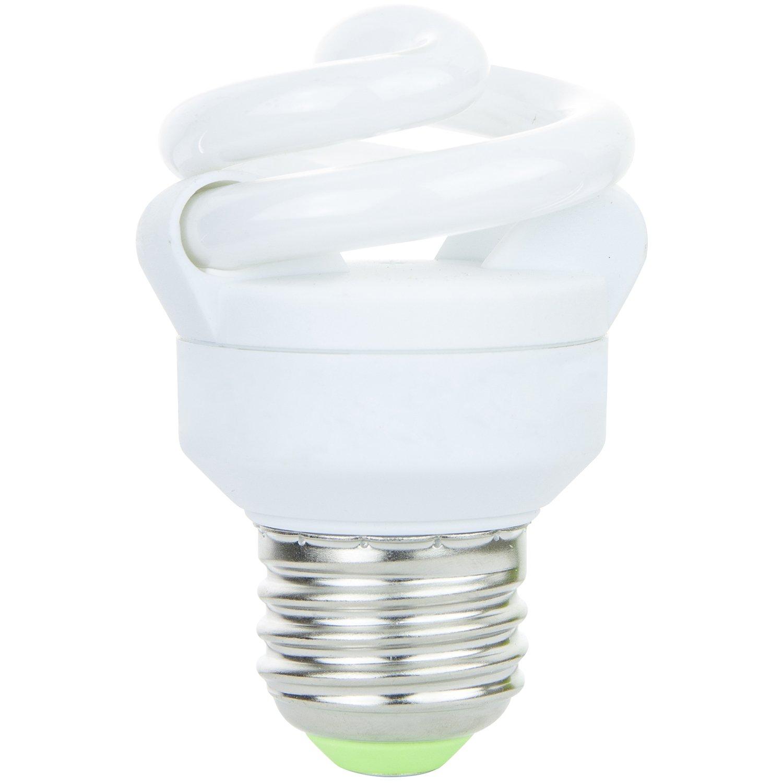 Sunlite SMS5F/27K 5 Watt Super Mini Spiral Energy Saving CFL Light Bulb Medium Base Warm White