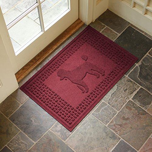 Aqua Shield Poodle Mat, Red/Black, 2