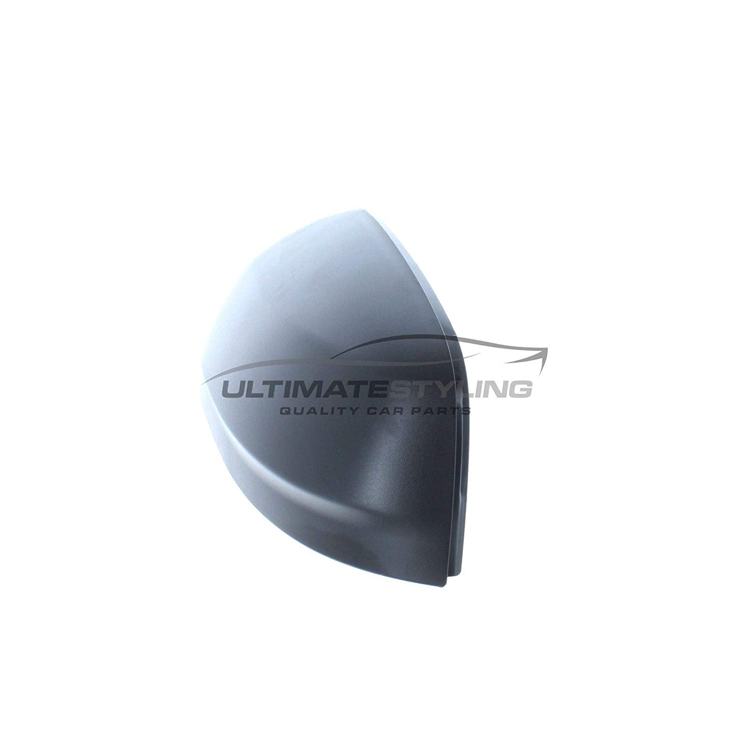 Ultimate Styling Aftermarket Replacement Wing Mirror Cover Cap Colour Of Cover Black Left Hand Side LH Textured For Passenger Side