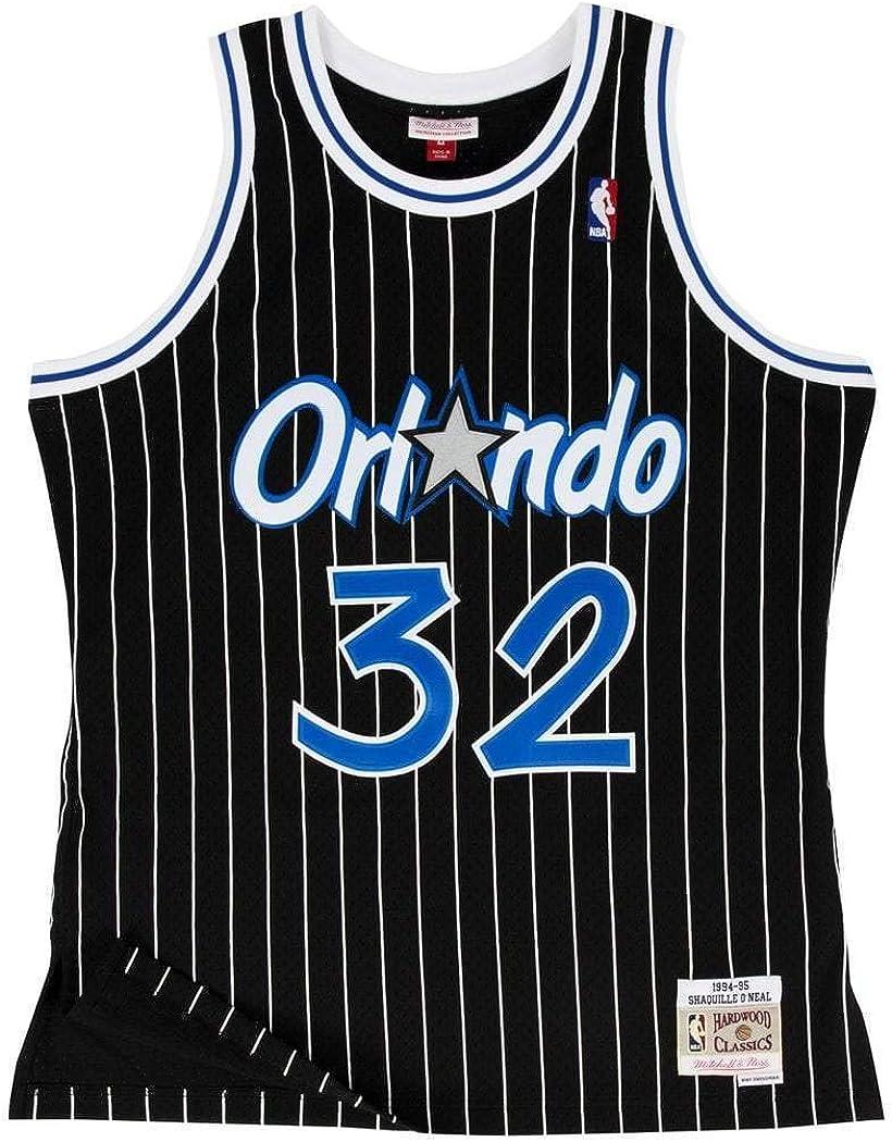 Mitchell & Ness Orlando Magic Shaquille O'Neal Black Swingman Jersey