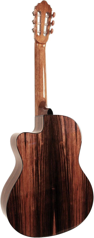 Guitares classiques CORT AC160CF NATURAL GLOSS Classiques /électro