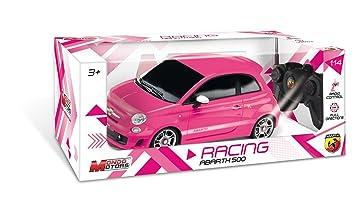 Mondo Motors - 63026 Auto radiocomandata, Nuova Fiat Abarth, scala 1:14, Colori assortiti