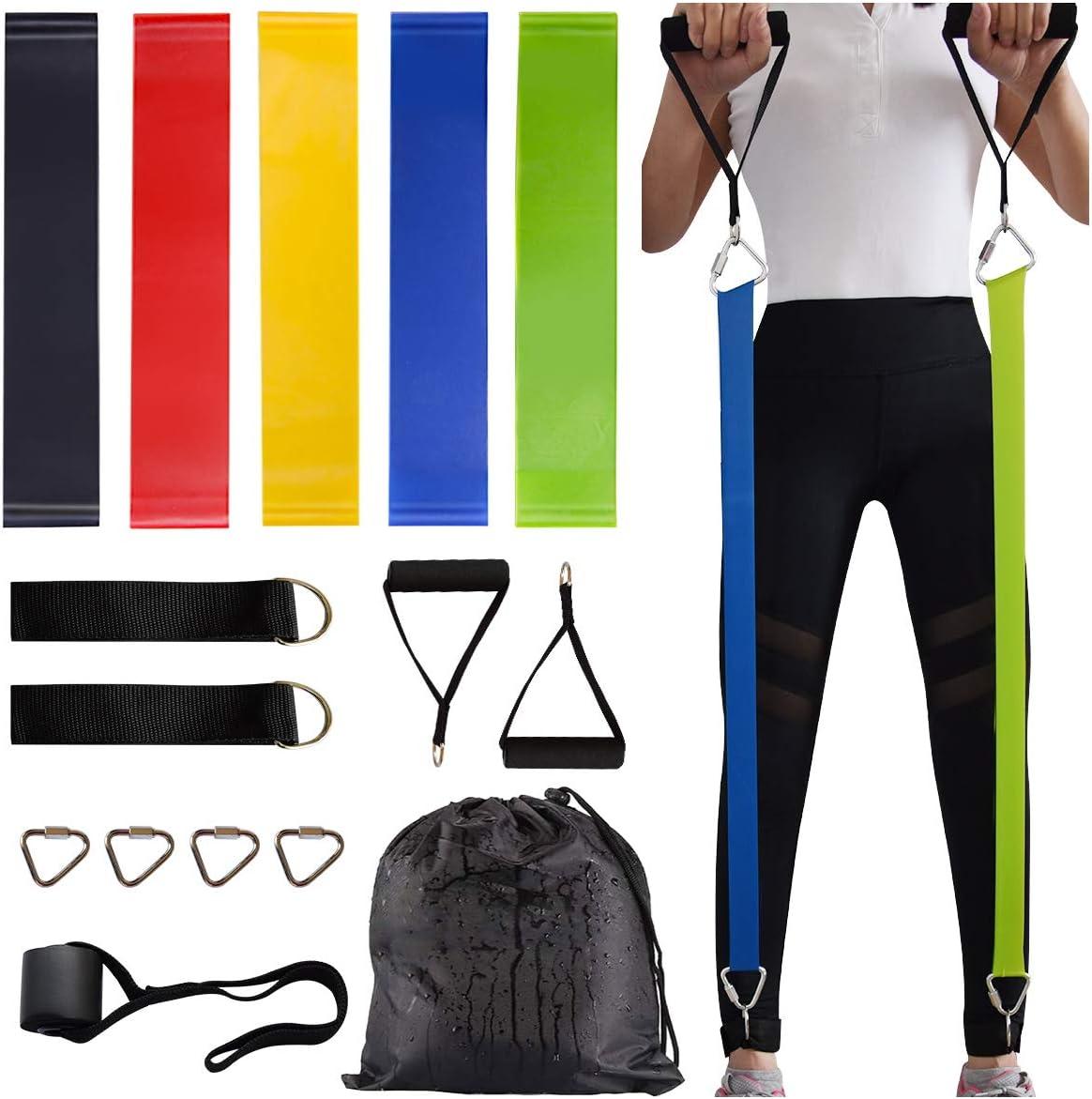 Bandas elasticas de entrenamiento (5 unidades)