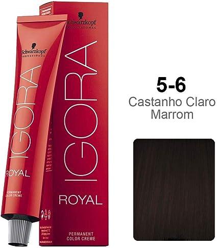 Schwarzkopf Professional Igora Royal Hair Color - 5-6 Light Brown Chocolate by Schwarzkopf Professional