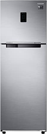 Samsung 345 L 3 Star Frost Free Double Door Refrigerator(RT37M5518S8/HL, Elegant Inox,�