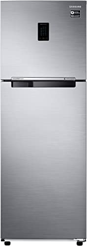 Samsung 345 L 3 Star   2019   Inverter Frost Free Double Door Refrigerator RT37M5518S8/HL, Elegant Inox, Convertible  Refrigerators