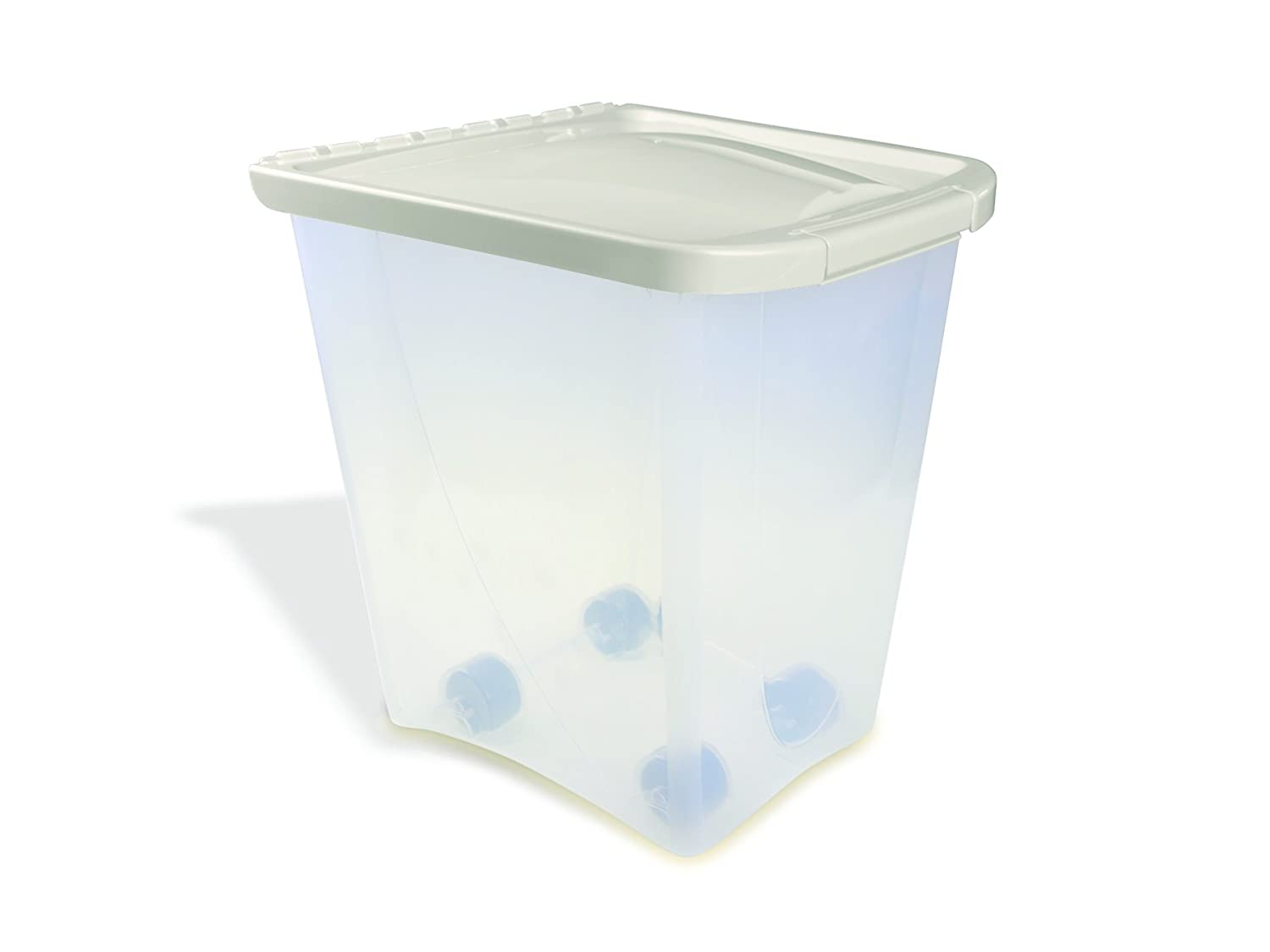 25-lb capacity Van Ness 25 Pound Food Container with Wheels