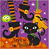 Spooky Boots Halloween Luncheon Napkins, 16ct