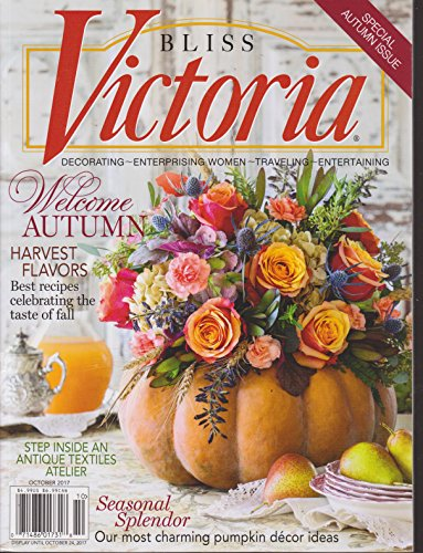 Victoria Bliss Magazine October 2017 | Welcome Autumn (Blanket Antique Wool)