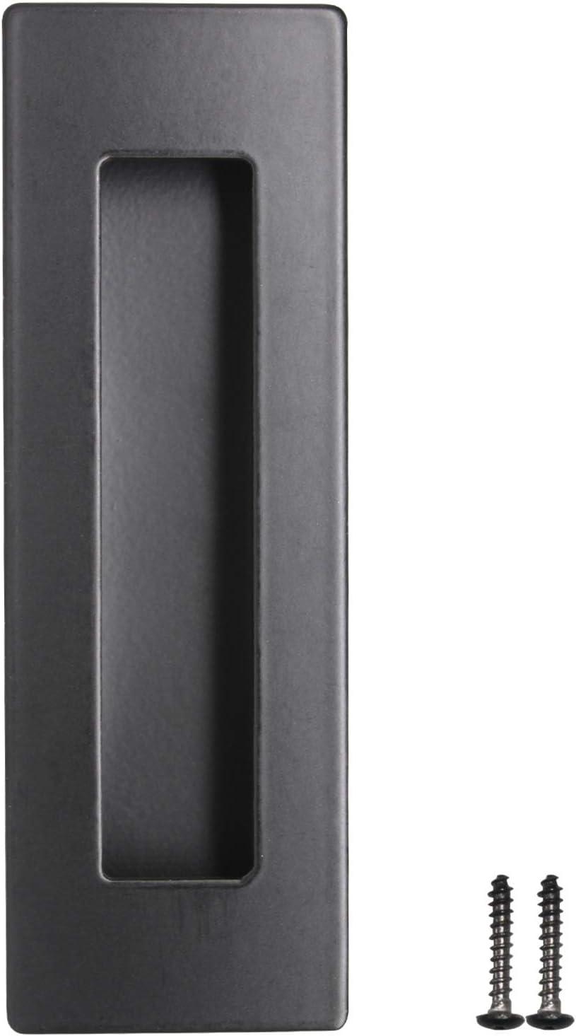 Tirador de puerta corredera de acero inoxidable con agujeros de montaje ocultos (1 unidad): Amazon.es: Bricolaje y herramientas