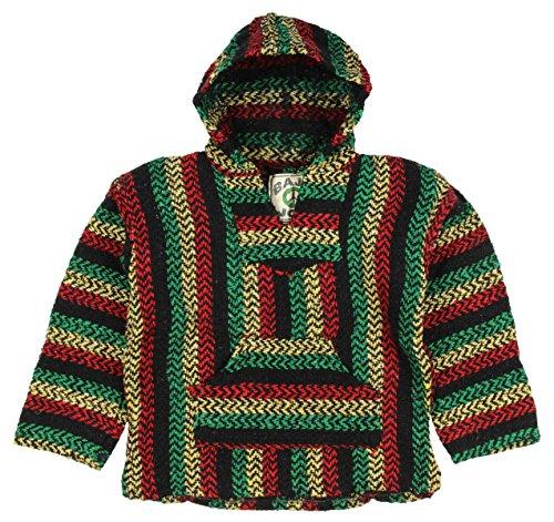 Baja Joe - Premium Woven Baja Hoodie Jerga - Baja Hoodies Boys