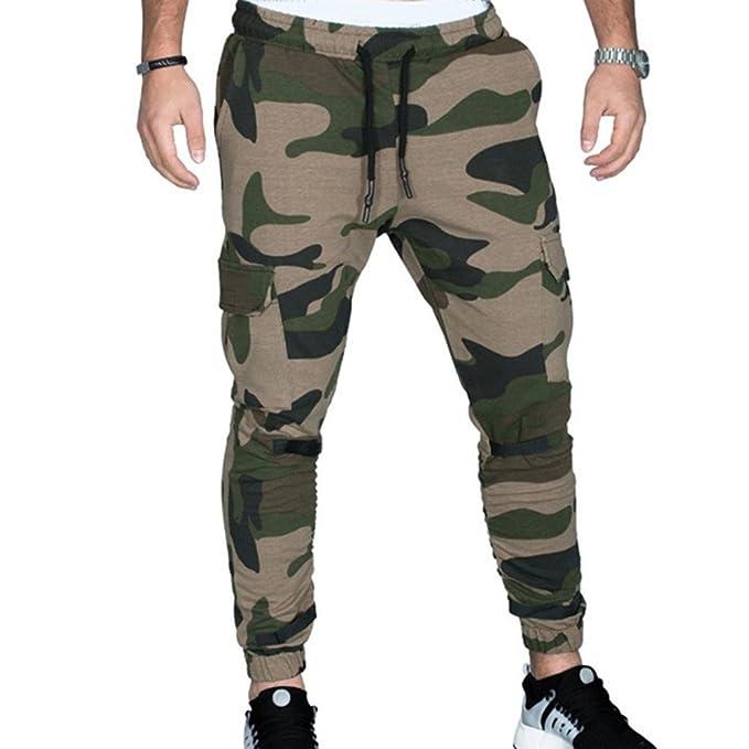 7d714431e4d9a0 LandFox-Pantaloni Pantaloni Sportivi da Uomo Casuali Pantaloni della Tuta  da Uomo Pantaloni Casuali con Cerniera e Pantaloni Larghi con Cerniera  Stile ...