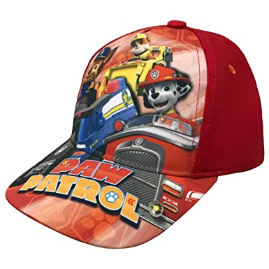 separation shoes 3f392 cb99c Nickelodeon Paw Patrol Toddler Boys Red Baseball Cap Age 2-5