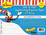 Eureka Cat in the Hat Writing Practice Paper, 350 Sheets (805103) - DISCONTINUED by Manufacturer