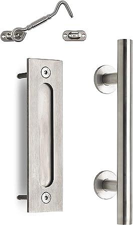 MJC & Company – Tirador de puerta corredera de granero y cerradura ...