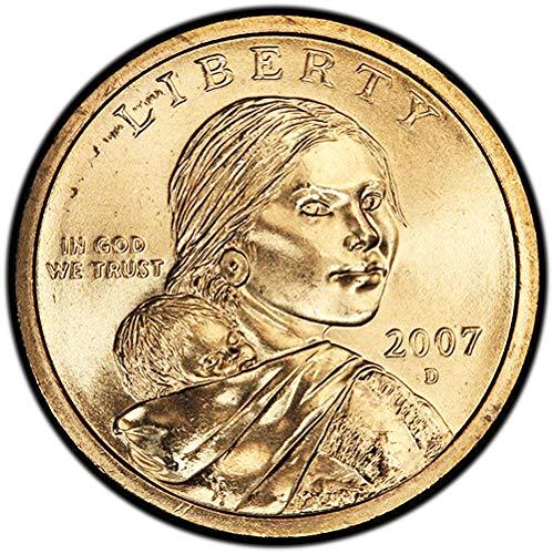 2007 D BU Sacagawea Dollar Choice Uncirculated US Mint