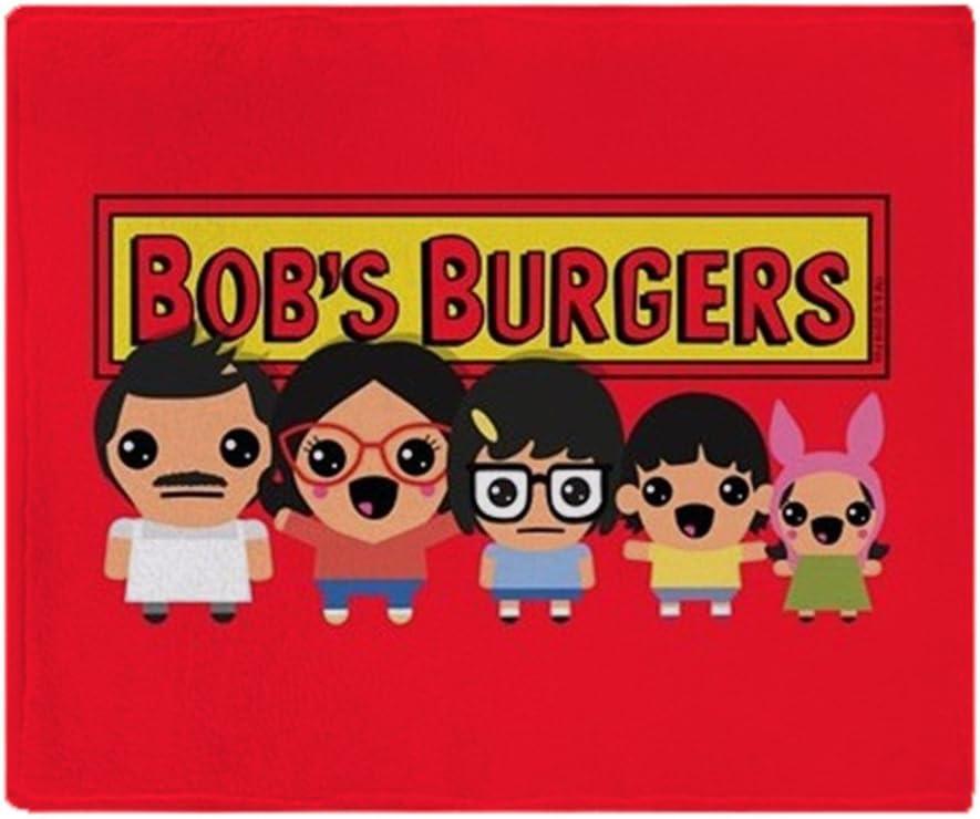 "CafePress Bob's Burgers Family Soft Fleece Throw Blanket, 50""x60"" Stadium Blanket"