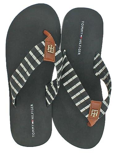 Assorted Women's EVA Flip Flop Sandals Black Size 5