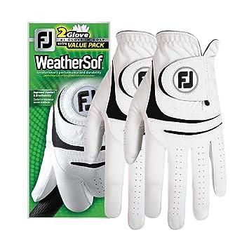 amazon com new improved footjoy weathersof mens golf gloves 2