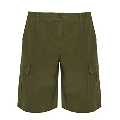 b7d1f91fd6 impex12 Men's Bermuda Shorts with Side Pockets - Work Utility Leisure -  100% Cotton -