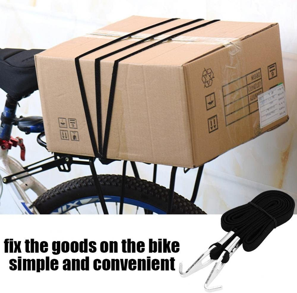 Elastic Bicycle Luggage Cycling Bandage Tension Straps Belt Packing Rope