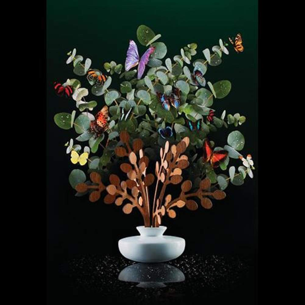 Alessi The Five Seasons Brrr Replacement Diffuser Leaves, Mahogany Wood, by Marcel Wanders by Alessi (Image #2)