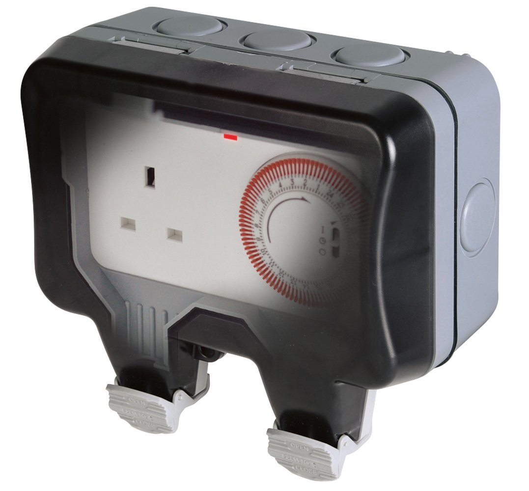 Bg Electrical 13 A Nexus Storm Weatherproof Time Amp Plug Top Bs1363 Stevenson Plumbing Supplies Electronics