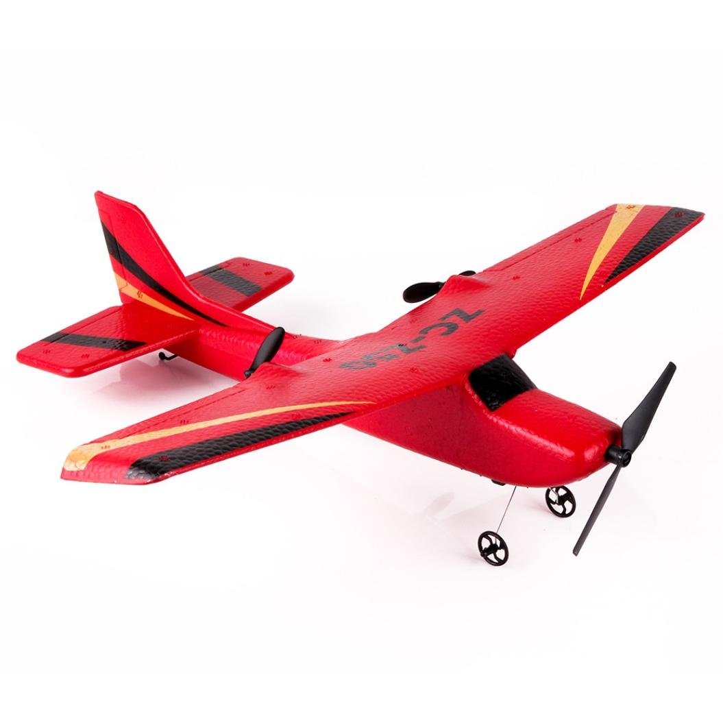 [RC Airplane] Z50 Gyro RTF Remote Control Glider 350mm Wingspan EPP Micro Indoor (Red)