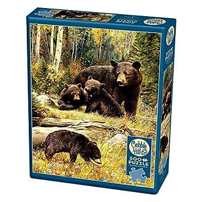 Cobblehill 85036 500 Pc Bears Puzzle Vari