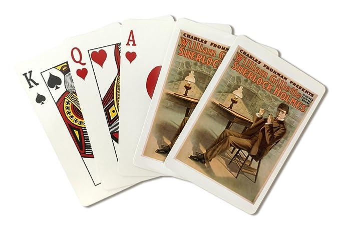 Amazon.com: Sherlock Holmes # 1 – Vintage teatro de anuncios ...