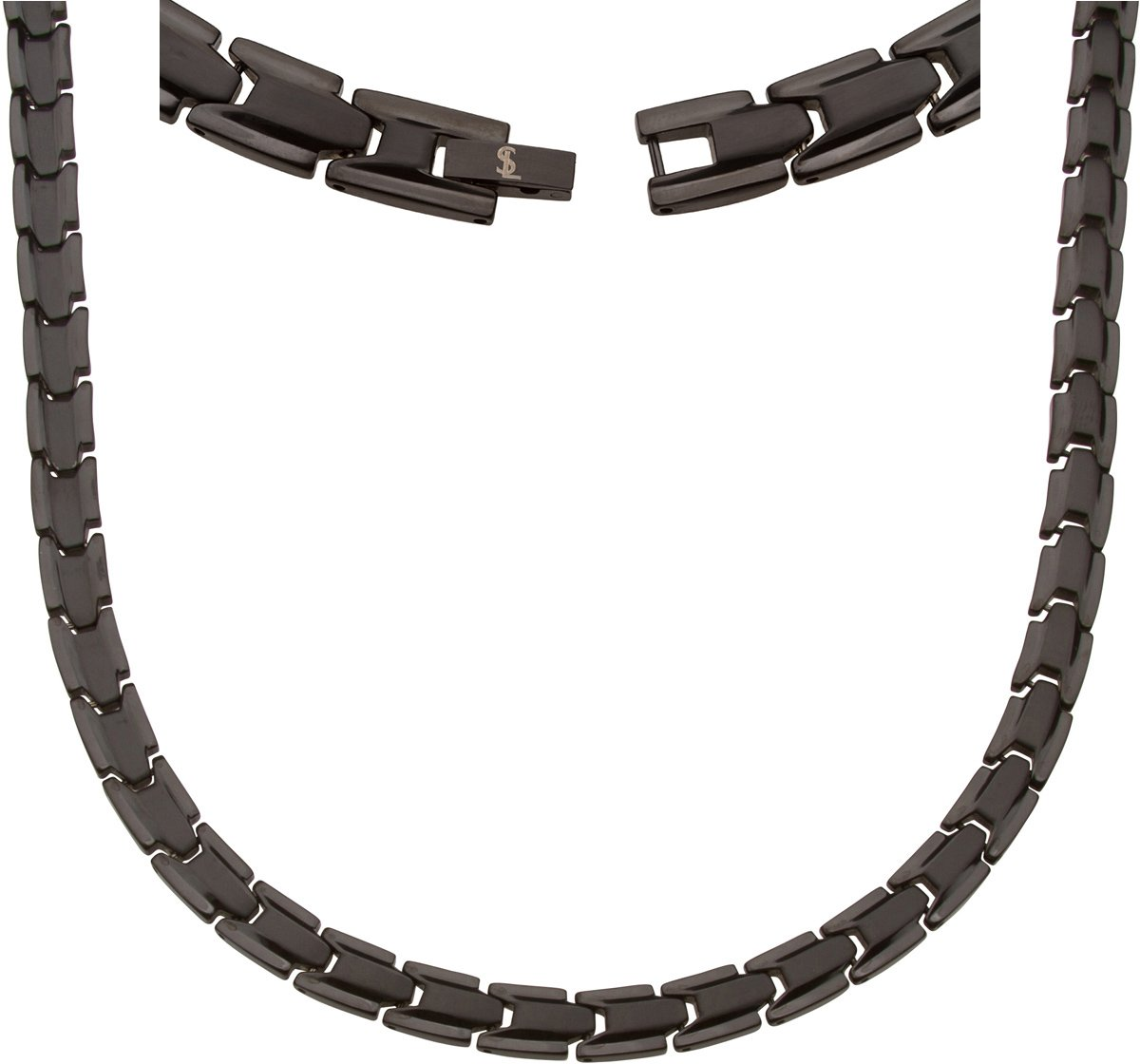 Elegant Titanium Magnetic Therapy Necklace Pain Relief for Neck Arthritis Migraine Headaches Shoulders And Back by Smarter LifeStyle